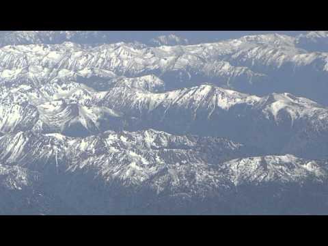 San Francisco-to-Vancouver flight: takeoff 1R, Puget Sound, San Juan Islands, landing 26R 2012-05-13
