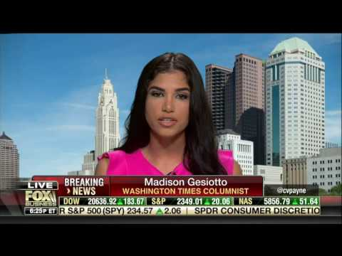 "Madison Gesiotto on ""Making Money with Charles Payne"" FBN 04/17/2017"