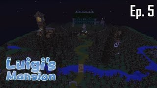 Minecraft aventure - Luigi's Mansion - Ep 5