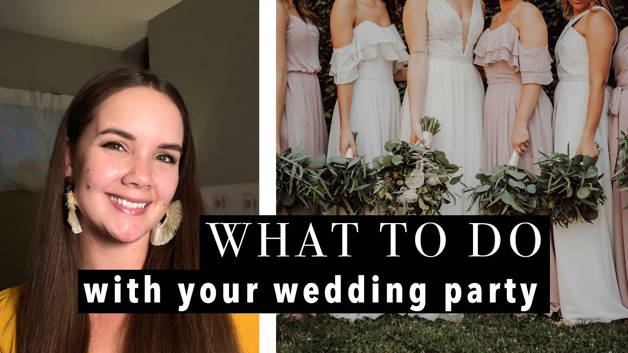 6 Roles To Give To People In Your Wedding Party