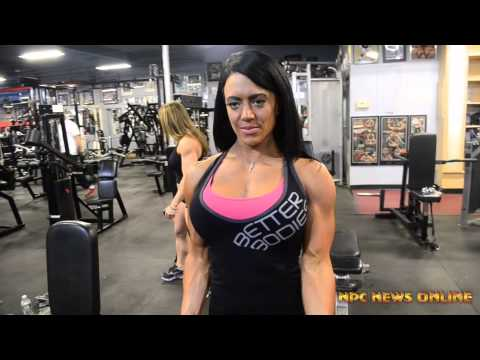 Kelly Lyons NPC Figure Competitor |Training at the East Coast Mecca