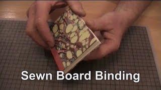 Easy Bookbinding: Sewn Board Binding