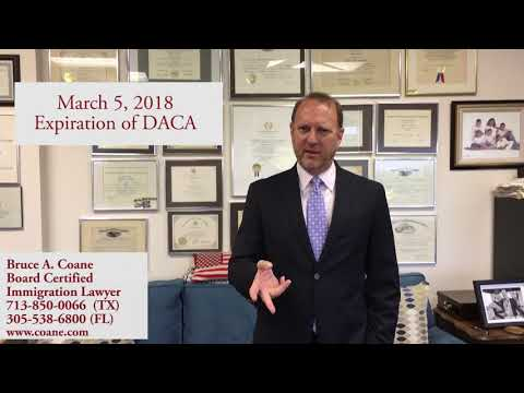 Dreamers and the End of DACA, with Board Certified Immigration Attorney Bruce Coane