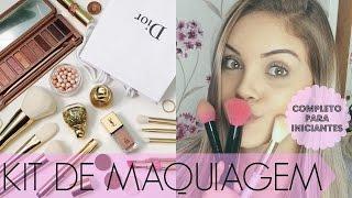 Kit BÁSICO de Maquiagem para INICIANTES | COMPLETO