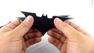 "Batman 6"" Batarang Throwing Knives Review (made by PRAG)"