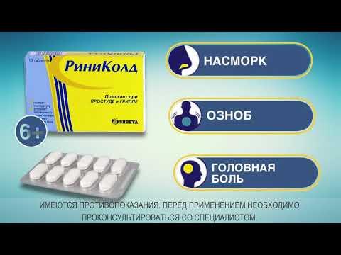 РИНИКОЛД 20 секунд - Реклама от простуды и гриппа
