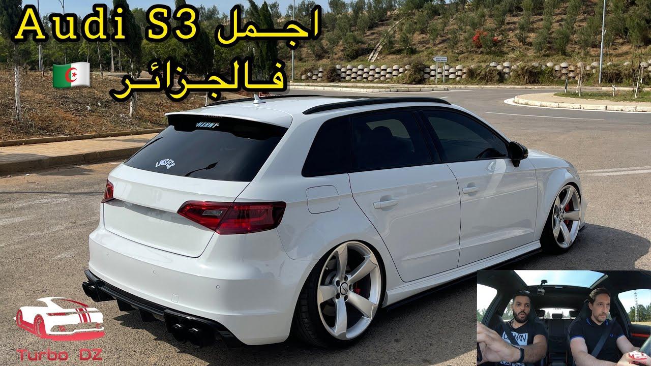 La plus belle Audi S3 8v en Algérie 🇩🇿 Stage 2+ 400ch 511NM!ارواح التشوف التعديل الاسطوري لي دارو