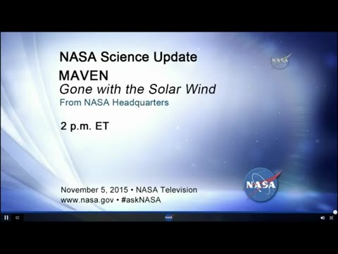 NASA - Gone with the Solar Wind