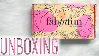 FabFitFun Spring Box Review! [Subscription Addiction]