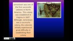Jamestown-The Success and Failures
