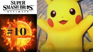 Super Smash Bros Ultimate Walkthrough Gameplay Part 10: Pikachu joins the battle! | Nintendo Switch