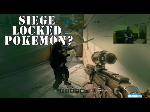 """""""Pokemon Ding Dongs?!!"""" RB6 Siege Livestream Archive"""