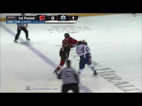 Michael Ferland vs Kale Kessy Sep 13, 2014