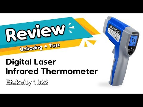 Etekcity 1022 Digital Laser Infrared Thermometer Temperature