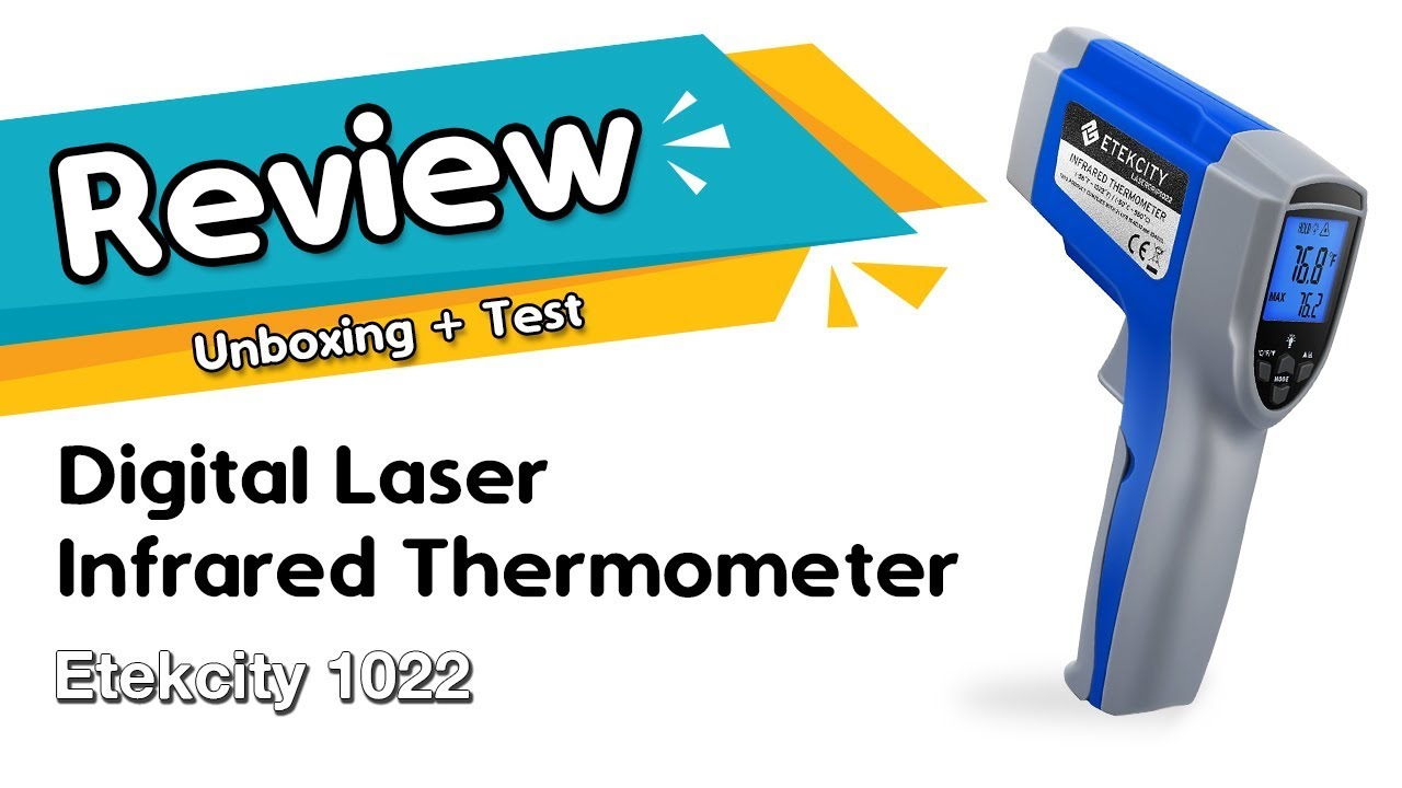Etekcity 1022 Digital Laser Infrared Thermometer Temperature Review