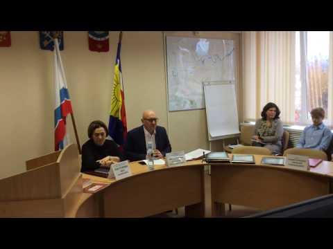 Тихвин: чествование юных борцов на городском совете депутатов