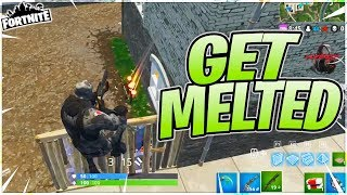 """GET MELTED NERD!!"" - Fortnite Battle Royale Gameplay"