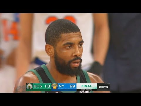 Kyrie Irving Turns Entire Knicks Crowd Into His Fans As They Cheer For Him! Celtics vs Knicks Mp3