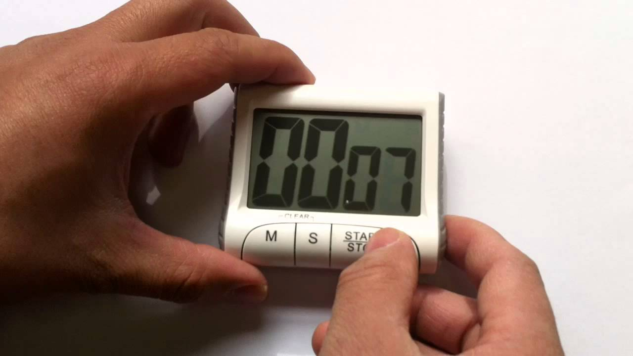 Funzionamento timer da cucina youtube - Timer da cucina ...