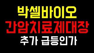 [주식]박셀바이오 간암치료제 임상 종료이후 3년 지난 …