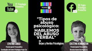 """""""Tipos de abuso psicológico: Hablemos del abuso verbal"""""""