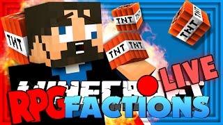 Minecraft: RPG Factions   TNT CANNON MACHINE GUN!! [10]