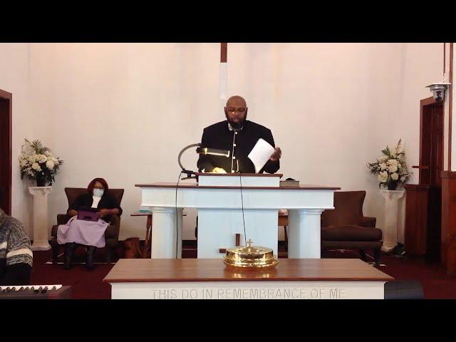 01-03-2021 -  Kevin T. Daniels, Sr., Pastor
