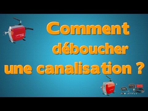 comment d boucher une canalisation youtube. Black Bedroom Furniture Sets. Home Design Ideas