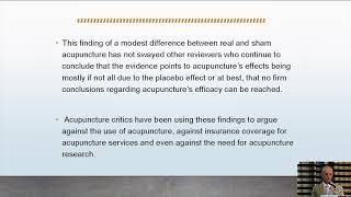 Matthew Bauer, President of the ANF, Second International Symposium for Research on Acupuncture