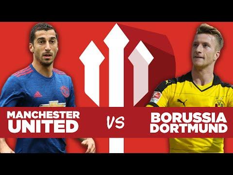 Manchester United 1-4 Borussia Dortmund LIVE WATCHALONG STREAM!