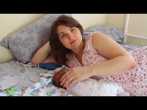 VLOG Новорожденный ребёнок: как проходит наш день