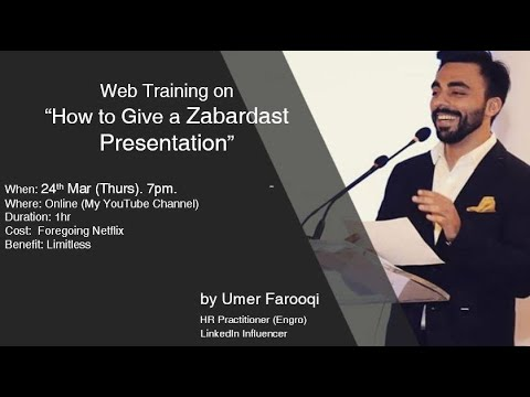 Download Ep#6 - How To Give a Zabardast Presentation