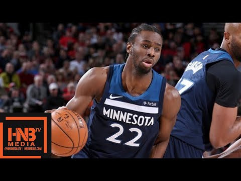 Minnesota Timberwolves vs Portland Trail Blazers Full Game Highlights / March 1 / 2017-18 NBA Season