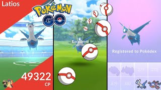 Pokémon GO | How To Catch Latios With Excellent Throws! | Throwing Tutorial | Circle Lock Method