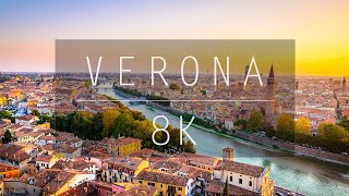 8k video ultra hd views of verona city for and 4k resolution tv. this footage was captured in natively uhd with the nikon d850. time...