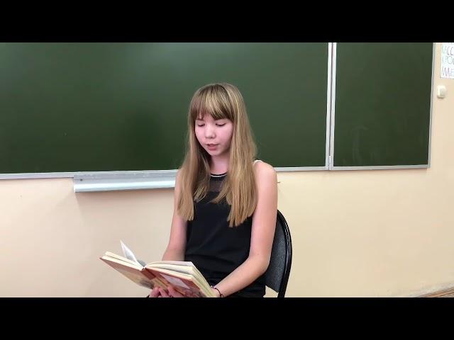 Изображение предпросмотра прочтения – ЮлианаЛюбезнова читает произведение «Стихотворение в прозе. Щи» И.С.Тургенева