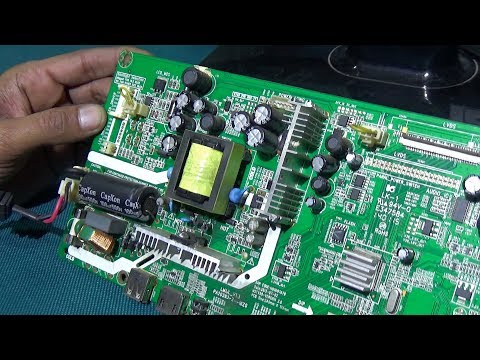 How To Repair Power Problem Of A LED Television (Step By Step) - Bengali Tutorial