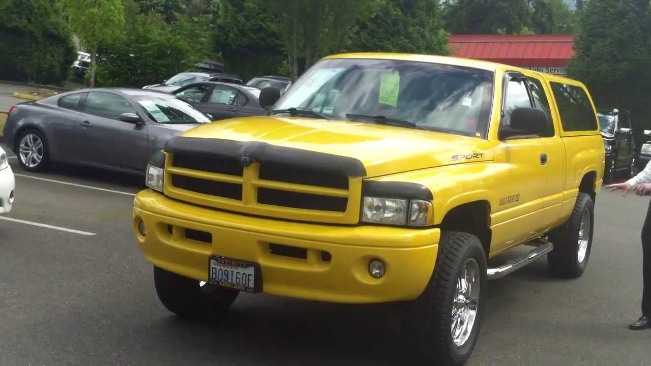 2000 Dodge Ram 4x4 Custom review  In 3 minutes youll be an
