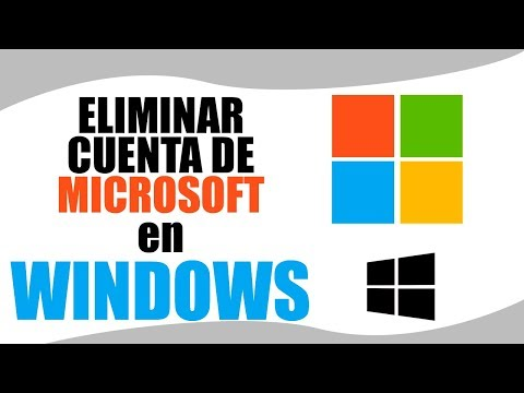 Eliminar o Desvincular cuenta Microsoft de Windows