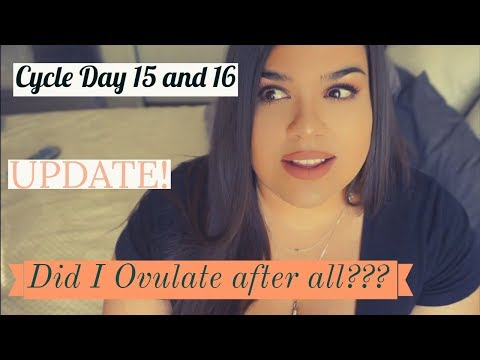 DID I OVULATE AFTER ALL? | CYCLE DAY 15 and 16 | TTC with PCOS | UPDATE