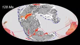 Plate Tectonics  600Ma to Today  by CR Scotese