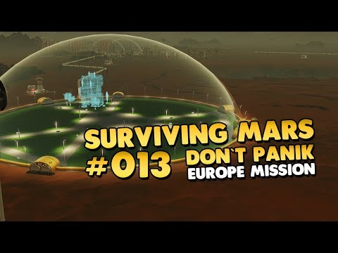 Surviving Mars - Meteoriten Incoming 🚀 #013 [Let's Play][Tutorial][Deutsch]