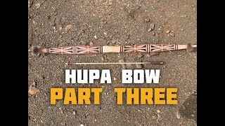 Hupa/Yurok Style Bow (Part 3 of 6)