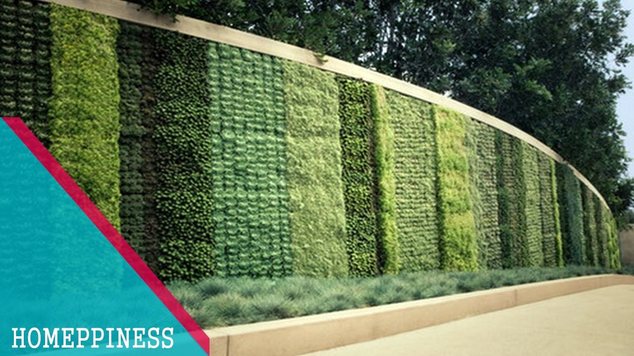 how to make a vertical garden wall