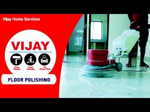 Floor Polishing Service - Vijay Home Services