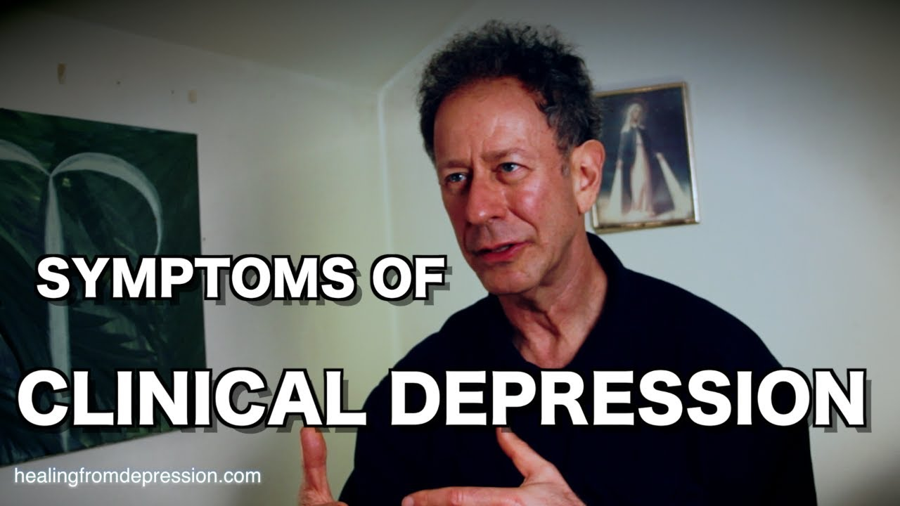 What Are the Symptoms of Clinical Depression? (with Douglas Bloch)