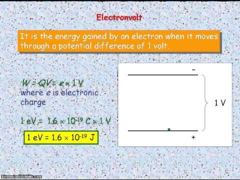 Quantum Physics 02 - Electronvolt