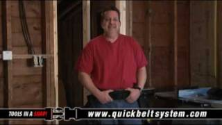 Quick Belt System Tool Belts And Tool Bags - Introducing The Modular Utility Belt That Clicks!