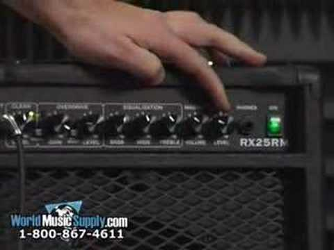 Randall RX25RM Electric Guitar Amp Demo