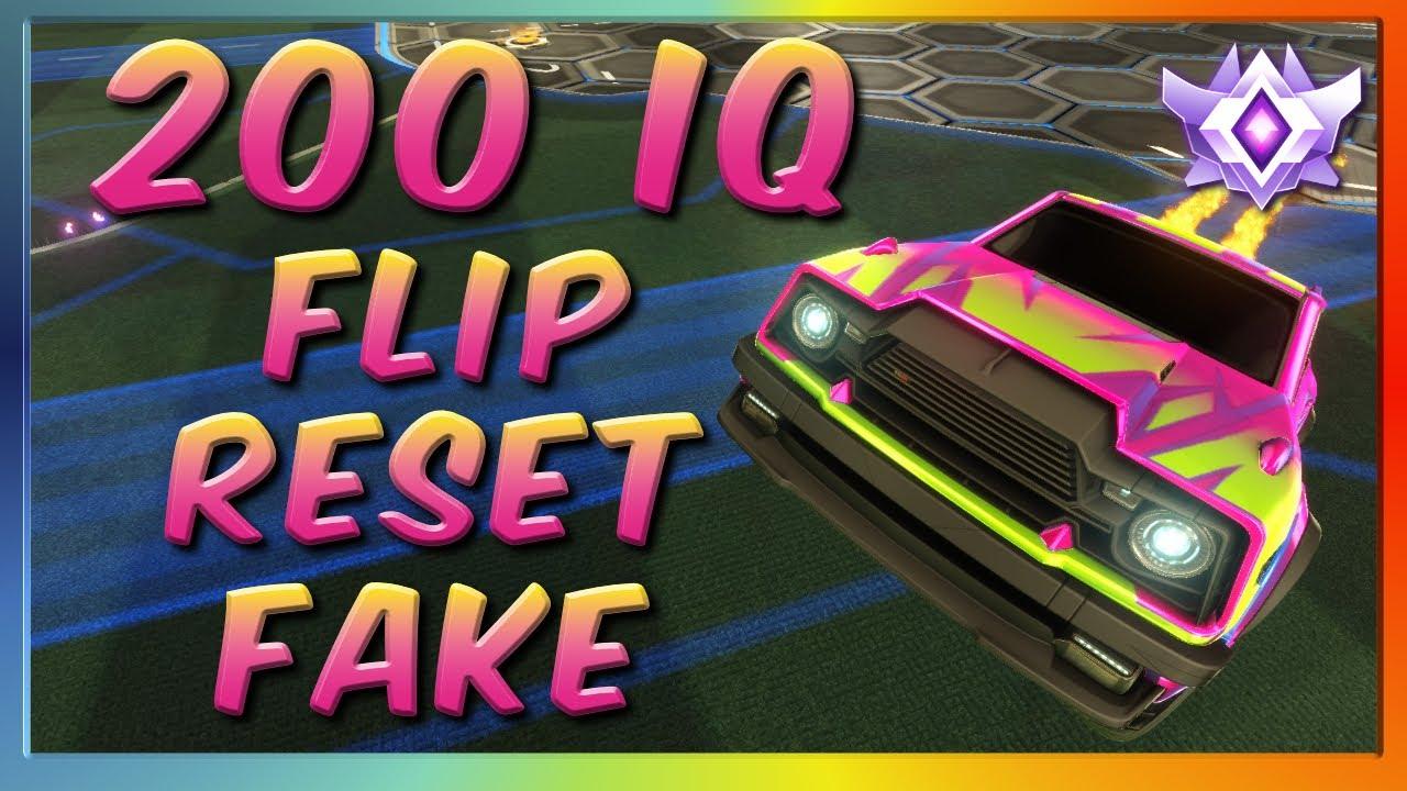 200 IQ FLIP RESET FAKE | GRAND CHAMPION 2V2 WITH GARRETTG
